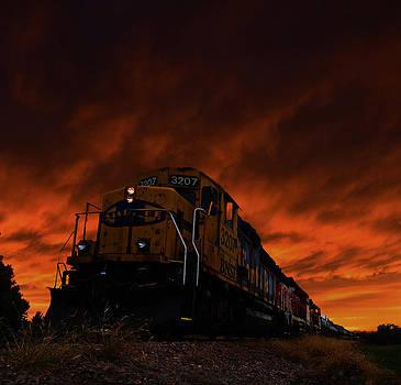 Night Train by Dustin Miller