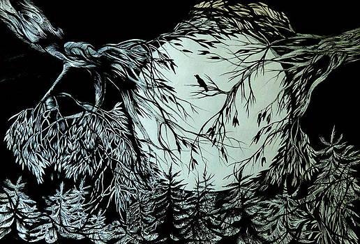 Anna  Duyunova - Nightingale Song. Part Three