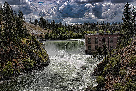 Nine Mile Falls Dam. by Rusty Jeffries