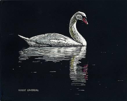 Nino's Swan by Robert Goudreau