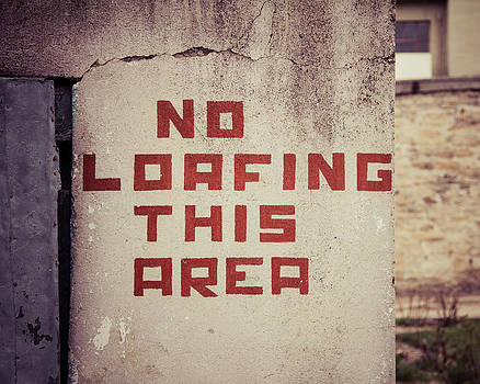 No Loafing by Takeshi Okada