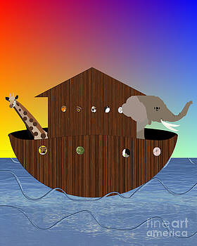 Noah's Ark by Pharris Art
