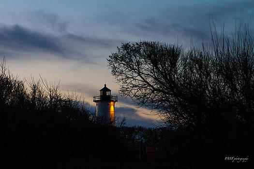 Nobska before sunrise by Paul Treseler