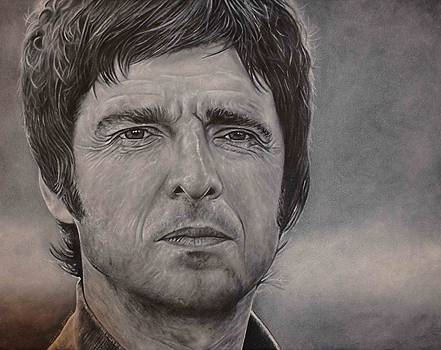 Noel Gallagher by David Dunne