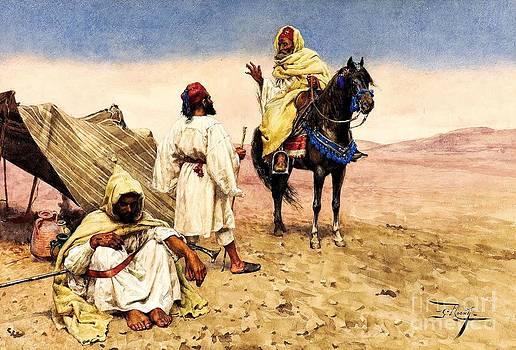 REPRODUCTION - Nomades du desert