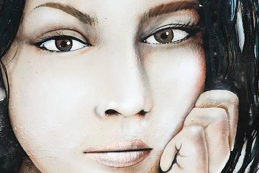 Norah Jones Mural by Lorri Crossno