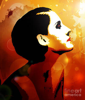Norma Shearer by Deena Athans