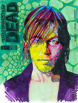 Norman Reedus by Kyle Willis