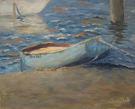 North Bay Dinghy at Dusk by Candace Doub