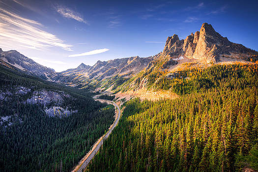 North Cascades Liberty Bell by Dan Mihai