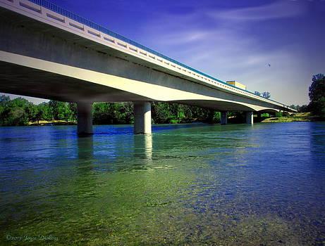 Joyce Dickens - North Street Bridge Anderson CA