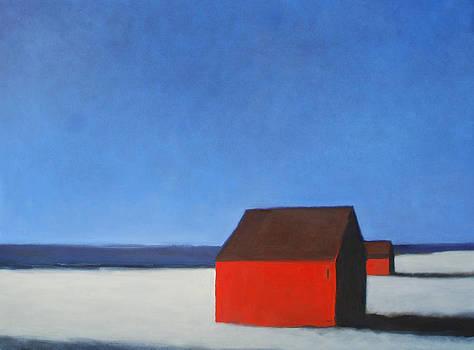 North Truro Cottages by Linda Puiatti