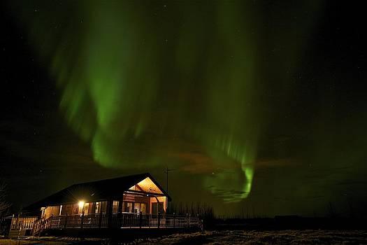 Northern lights 3 by Erlendur Gudmundsson
