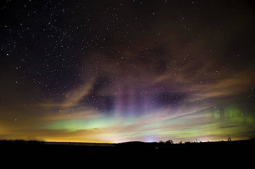 Northern Lights Beaming by Jennifer Brindley