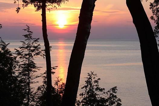 Northern Sunset by Sarah Vandenbusch