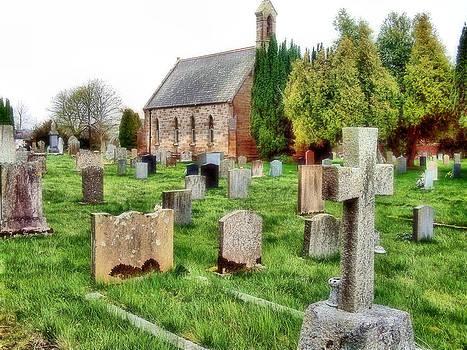 Cindy Nunn - Northumberland Church 1