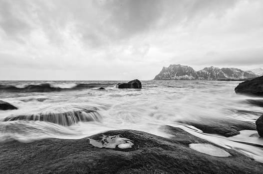 Norway Coastline by Kay Price
