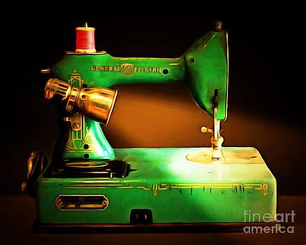 Wingsdomain Art and Photography - Nostalgic Vintage Sewing Machine 20150225