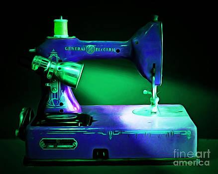 Wingsdomain Art and Photography - Nostalgic Vintage Sewing Machine 20150225p118