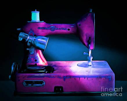 Wingsdomain Art and Photography - Nostalgic Vintage Sewing Machine 20150225p180