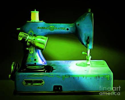 Wingsdomain Art and Photography - Nostalgic Vintage Sewing Machine 20150225p68