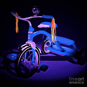 Wingsdomain Art and Photography - Nostalgic Vintage Tricycle 20150225 square m135