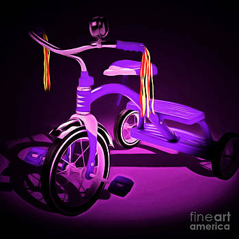 Wingsdomain Art and Photography - Nostalgic Vintage Tricycle 20150225 square m88
