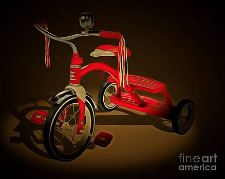 Wingsdomain Art and Photography - Nostalgic Vintage Tricycle 20150225