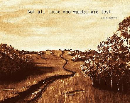 Anastasiya Malakhova - Not all Those who Wander are Lost