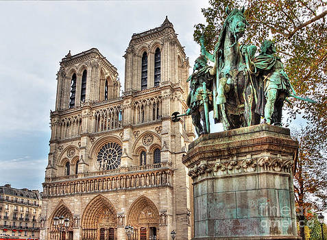 Notre Dame and the Horse by Marc Henderson