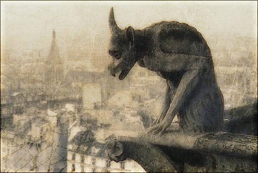 Notre Dame Cathedral Gargoyle by Douglas MooreZart