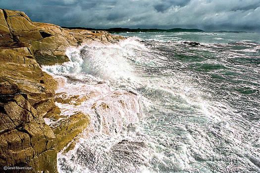 Nova Scotia Ocean Fury by Gerald MacLennon