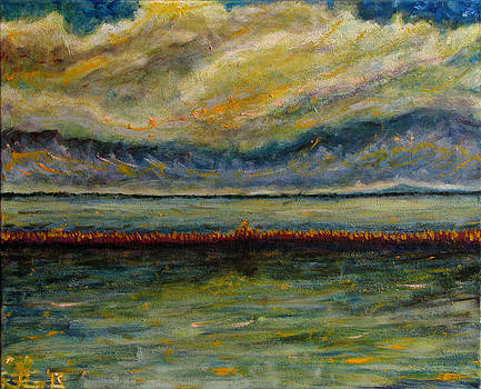November Suite 3 Storm Clouds by Jonathan E Raddatz