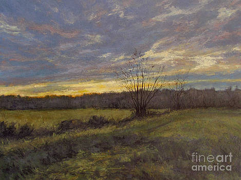 November Sunset by Gregory Arnett