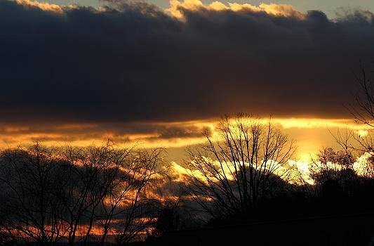 November Sunset by Stan Wikle