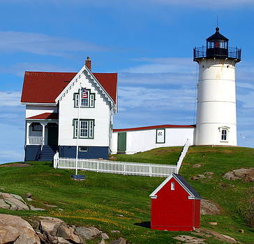 Nubble Light House   Maine by Henry Gray
