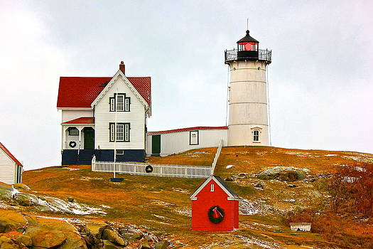 Amazing Jules - Nubble Lighthouse