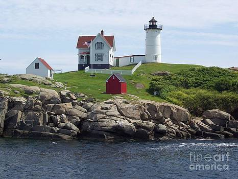 Stella Sherman - Nubble Lighthouse in Maine