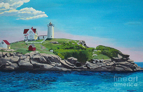 Stella Sherman - Nubble Lighthouse Sunrise