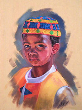 Nubian Boy by Ahmed Bayomi
