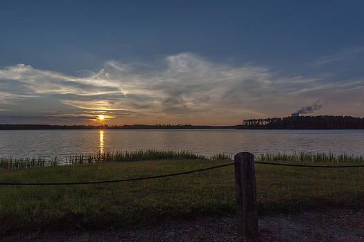 Nuclear Sunset by Brian Villanueva