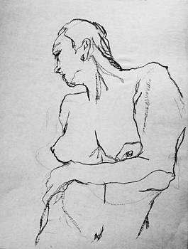Nude-001 by Olusha Permiakoff