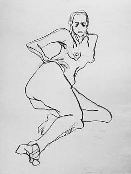Nude-002 by Olusha Permiakoff