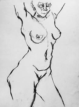 Nude-004 by Olusha Permiakoff