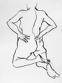 Nude-005 by Olusha Permiakoff