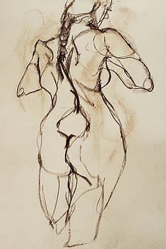 Nude-009 by Olusha Permiakoff