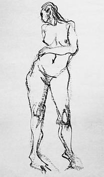 Nude-011 by Olusha Permiakoff