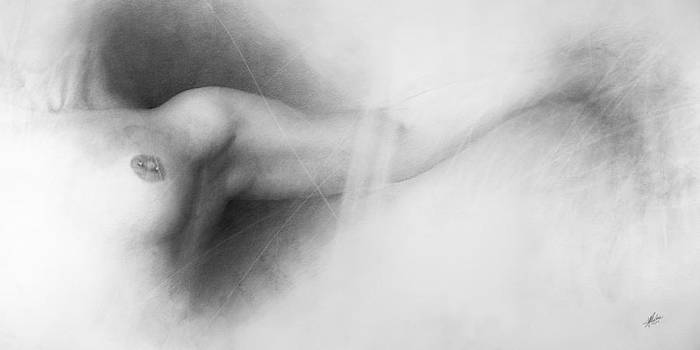 Nude drawing by Christian Klute