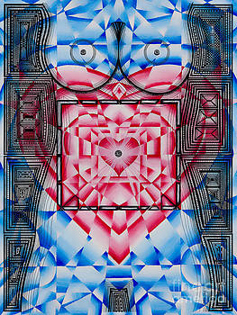 Nude Heart and Sky by Joseph J Stevens