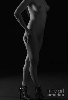 Nude In Heels by Lankanion Photography